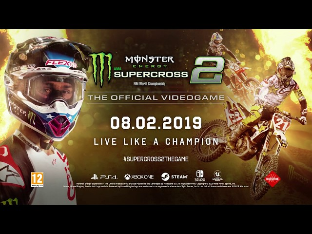 Monster Energy Supercross - The Official Videogame 2 - Championship Trailer
