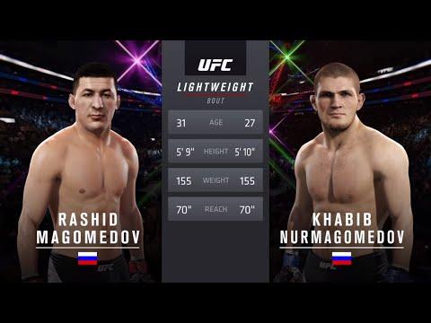 Хабиб Vs Магомедов ( Хабиб Нурмагомедов против Рашида Магомедова ) UFC 2. Достойные соперники .