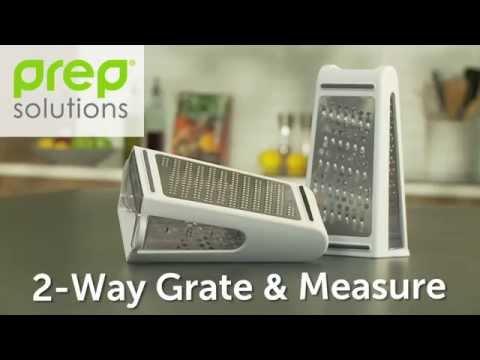 Prep solutions® 2-Way Grate & Measure - Progressive International