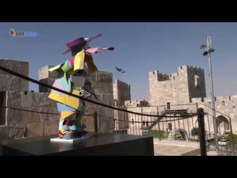 Paper Artist Brings Jerusalem Historical Figures To Life