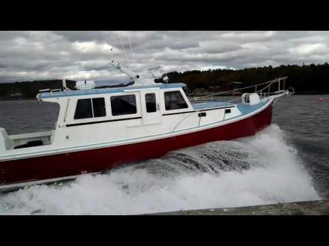 45' Young Brothers-sportsfishing vessel built in Maine