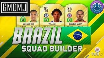 FIFA 17 / SBC / Südamerika Tour Brasilien + GÜNSTIGE LÖSUNG + INFORM?! (Deutsch) - GMDMJ