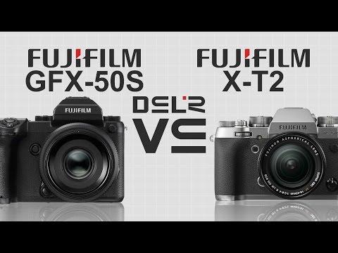 FujiFilm GFX-50S vs FujiFilm X-T2