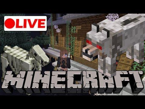 🔴  Sneak Peak to Halloween Events! |Minecraft Live Stream
