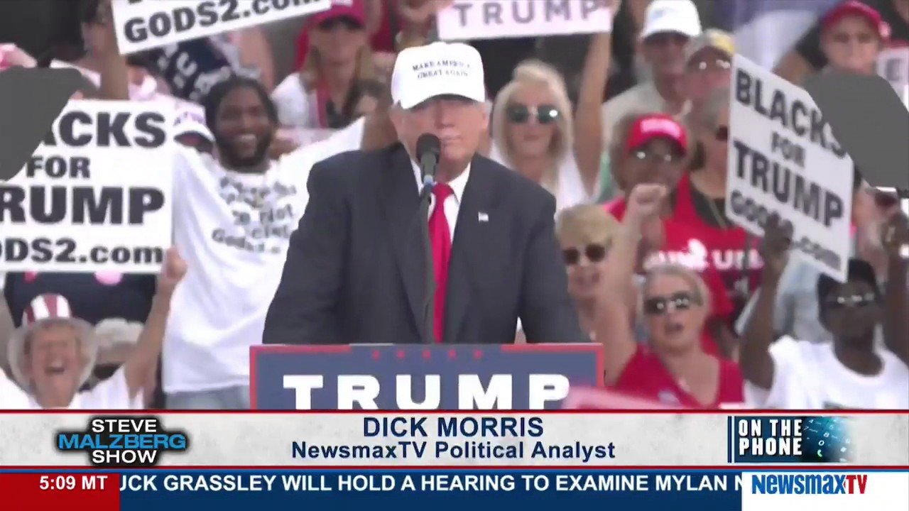 Dick Morris: Every Single Poll Shows Trump Doing Better Than