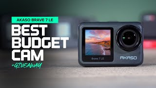Best Budget Action Camera - AKASO Brave 7 LE + GIVEAWAY