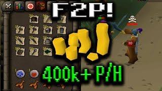 BEST F2P MONEY MAKING METHODS OSRS (400k+ P/h) Part 3