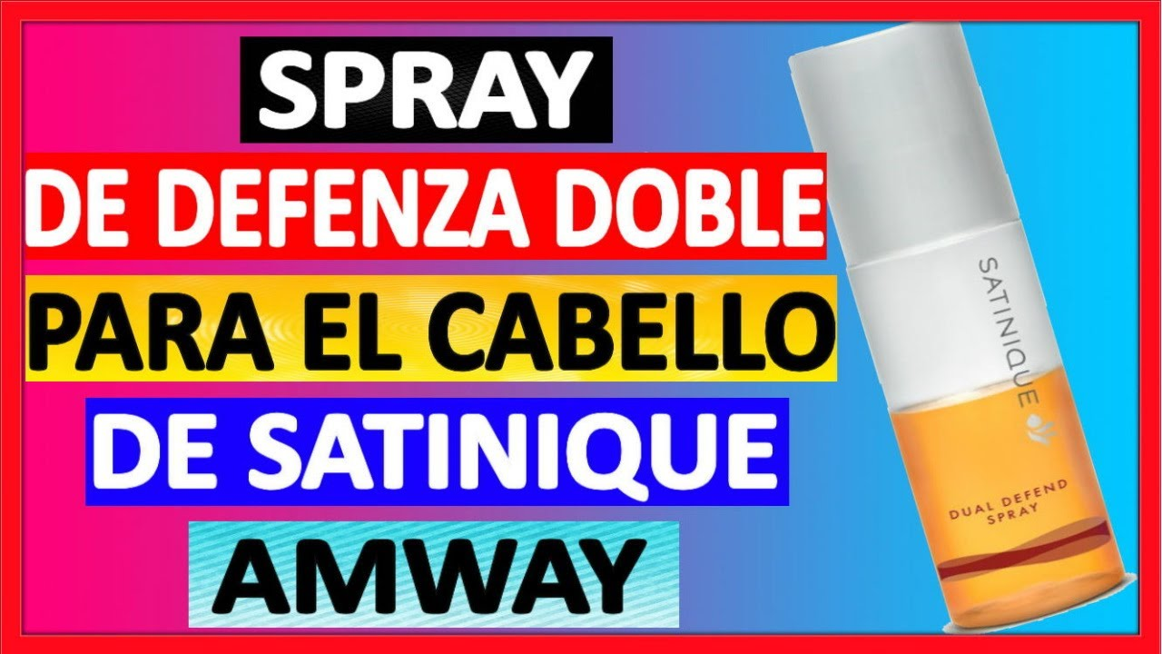 ✅Protector termico SPRAY DE DEFENZA DOBLE satinique, Todo sobre el SPRAY DE DEFENZA DOBLE