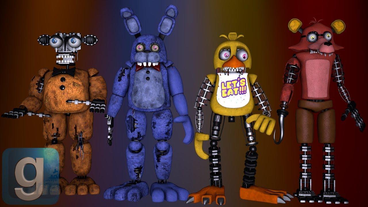 Gmod Withered Animatronics