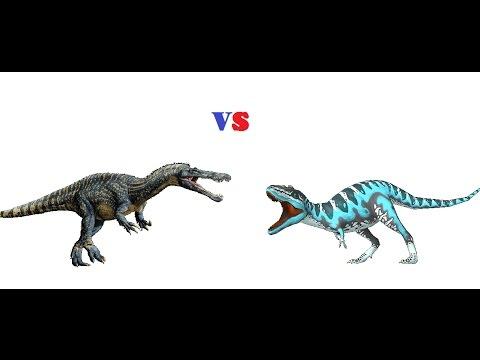 Gorgosaurus vs suchomimus