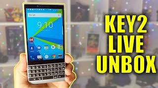 Blackberry Key2 Unboxing Livestream: Setting up while answering your questions!