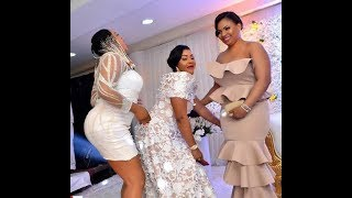 Mercy Aigbe Dances Her Heart Out As Omo Banke & Others Storms Her 40th Birthday Party In Style