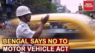 West Bengal Decides Not To Implement Motor Vehicle Act