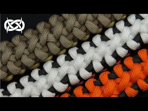 How to make a Boneyard Bar Paracord Bracelet Tutorial (Paracord 101) from YouTube · Duration:  13 minutes 7 seconds