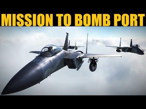 TOUGH Strike Mission To Bomb Naval Port | DCS WORLD