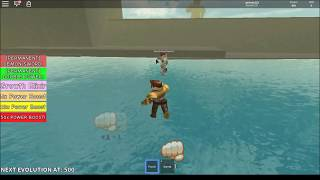How to increase your power fast in Titan Simulator Roblox