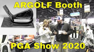 ARGOLF Customizable Putters and Irons PGA Show 2020