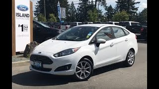 2014 Ford Fiesta SE W/ Ambient Lighting, A/C, Bluetooth Review| Island Ford