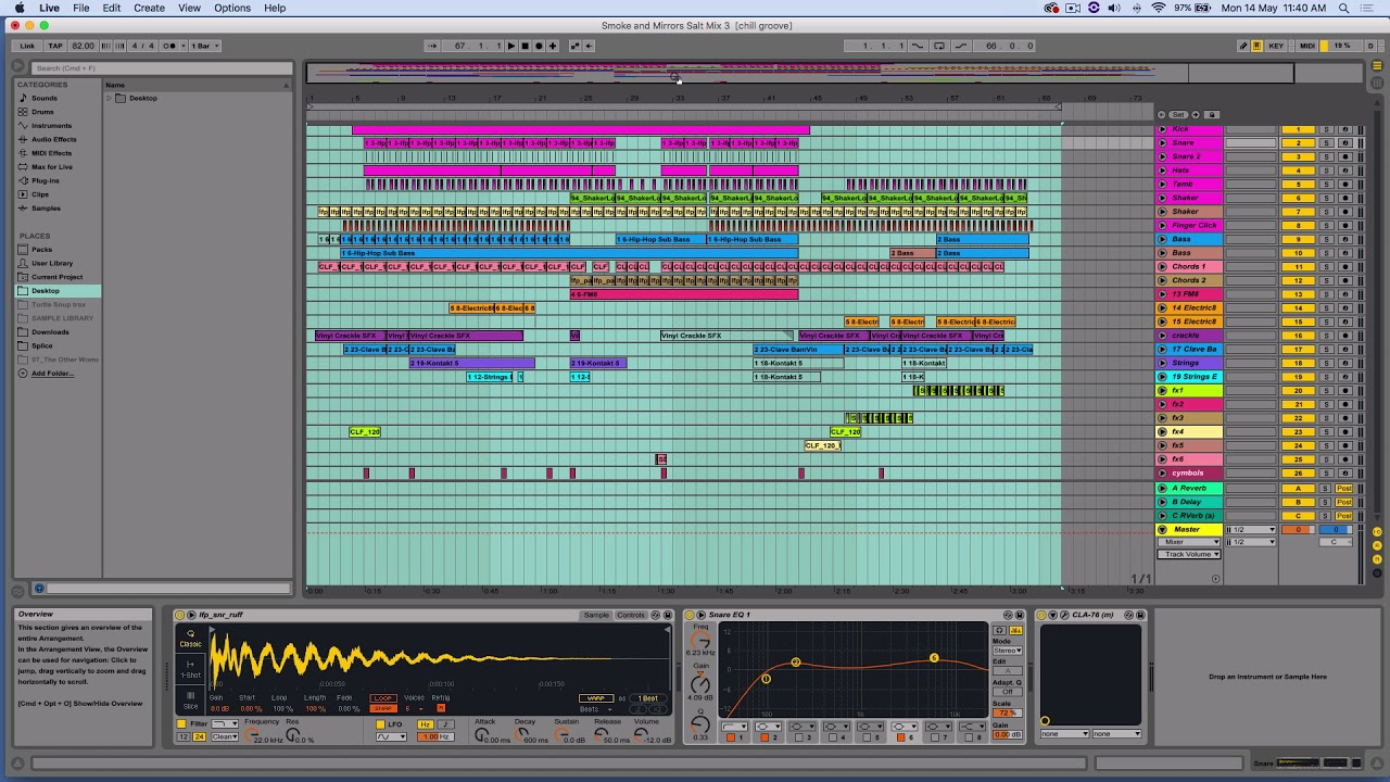 Export Stems Ableton 9 (track outs) - Bounce multi tracks Ableton