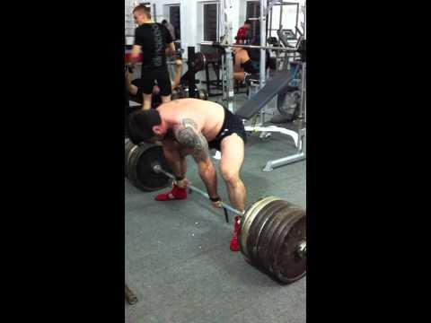 Вахтин Аким,становая тяга 334 кг\собств.вес 96 кг