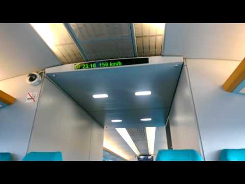 Maglev in Shanghai acceleration 0-300 km/h