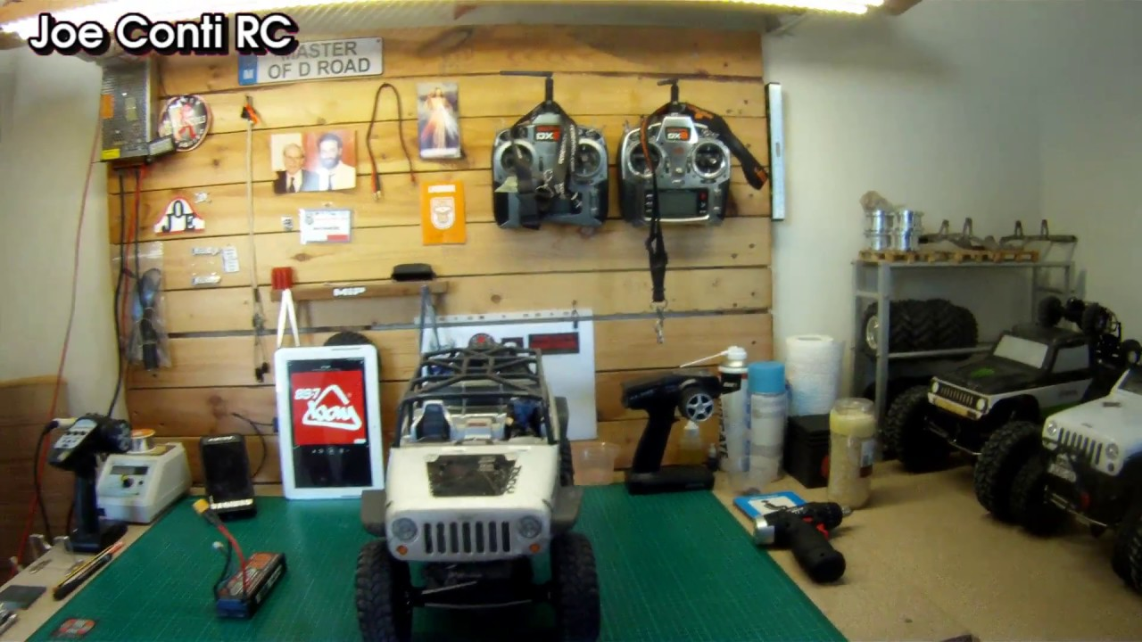 The new workshop at joe 39 s rc car garage youtube for 1 5 car garage