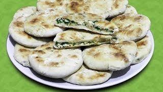 Лепешки с тофу, нори и зеленью - вегетарианский рецепт