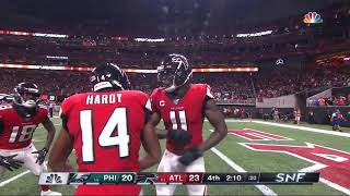 Julio Jones Go-Ahead 4th Down TD | Eagles vs. Falcons | NFL