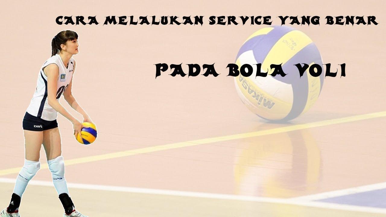 Tutorial Melakukan Servis Atas Olahraga Voli By Sman 1 Bojong Gede Youtube