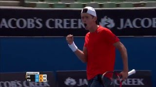 Alex De Minaur v Stefanos Tsitsipas highlights (Junior Boys Singles - QF) | Australian Open 2016
