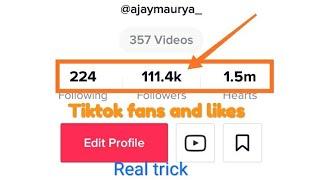 Increase tik tok fans