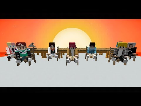 BTS IDOL MV In Minecraft (FULL VERSION)