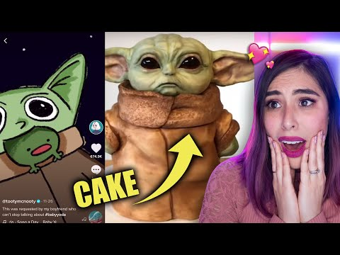 Reacting to the FUNNIEST Baby Yoda Memes