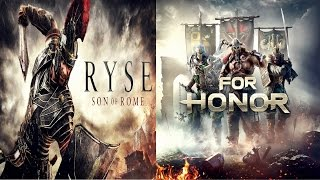 Ryse®: Son of Rome Vs.FOR HONOR™| COMPARISON | Side by Side [2017] G.i.F ✔