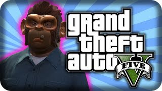 Grand Theft Auto V | Funny Moments | EPIC POLICE CHASE 5 STARS