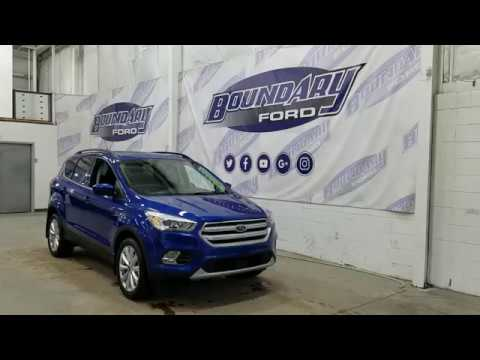 2019 Ford Escape SEL 300A W/ 1.5L EcoBoost, Leather, Remote Start Overview | Boundary Ford