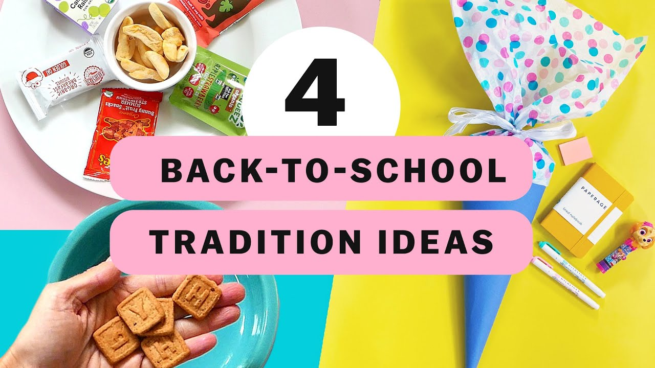 4 Back-To-School Traditions To Start In Your Family
