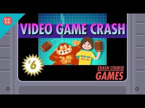 The Video Game Crash of 1983: Crash Course Games #6