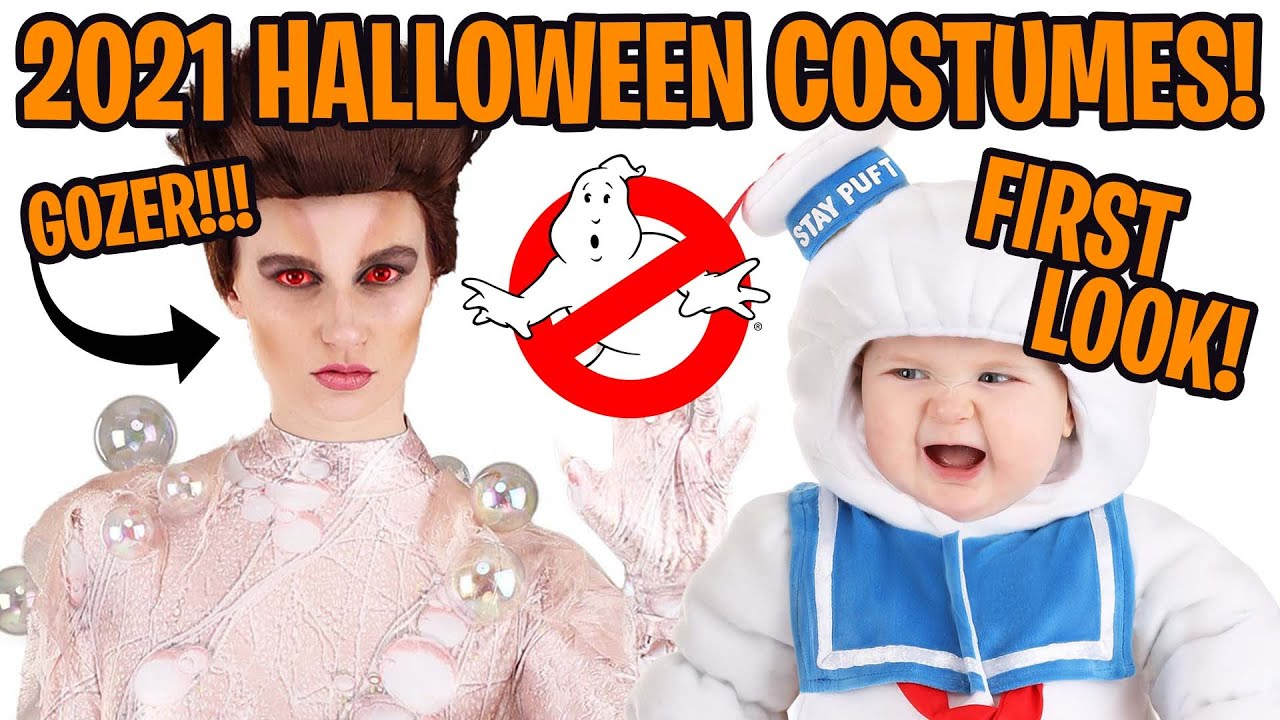 FIRST LOOK: Ghostbusters Gozer Halloween costume + new Stay Puft costumes!
