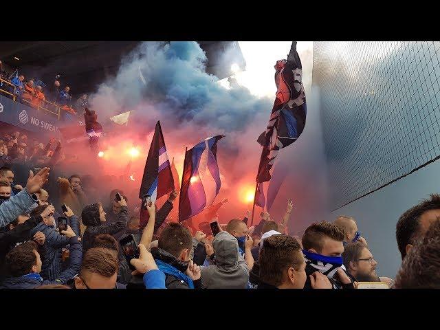 Sfeer voor Club Brugge-Antwerp 22-10-2017