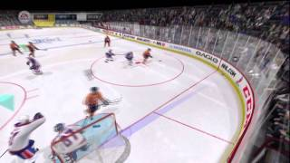 NHL 12 EASHL Goalie Gameplay Thumbnail