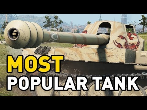 the MOST POPULAR tank in World of Tanks
