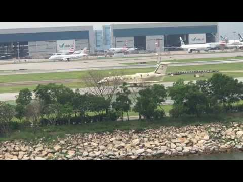 Nawaz Sharif /Private jet TAKE OFF From Hong Kong