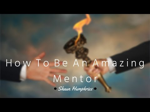 How to be an AMAZING MENTOR!