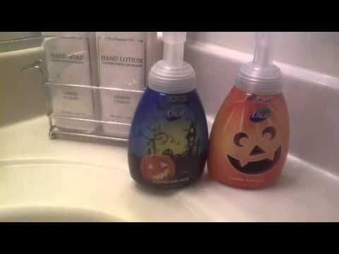 dial halloween hand soap hey wheres the glow