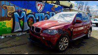 2012 BMW X5 35i. Авто до 6000$. Страховые аукционы США. Авто из Америки в Украину
