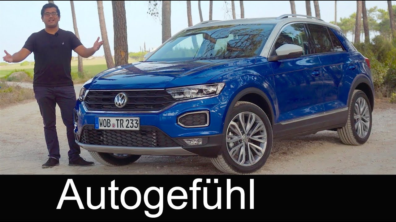 volkswagen t roc full review test driven vw t roc all new neu suv autogef hl youtube. Black Bedroom Furniture Sets. Home Design Ideas