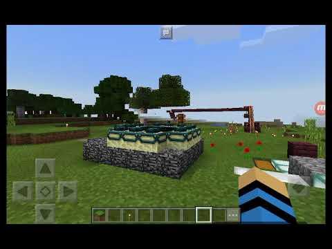 JUN HE的Minecraft实况~用创造创造出完美世界!/ep2!终界火车站~