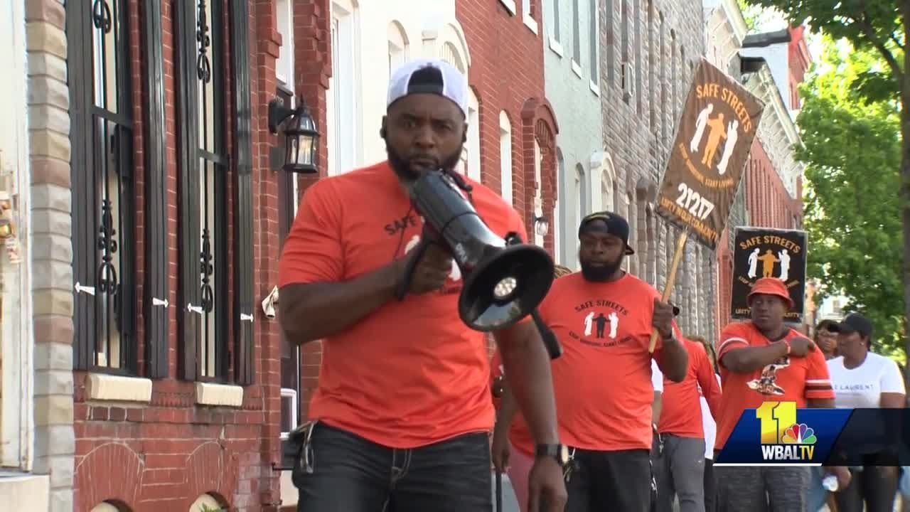 BALTIMORE, MD: Safe Streets organizers call for end to violence