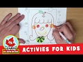 Fruit Girl Activity for Kids | Maple Leaf Learning Playhouse